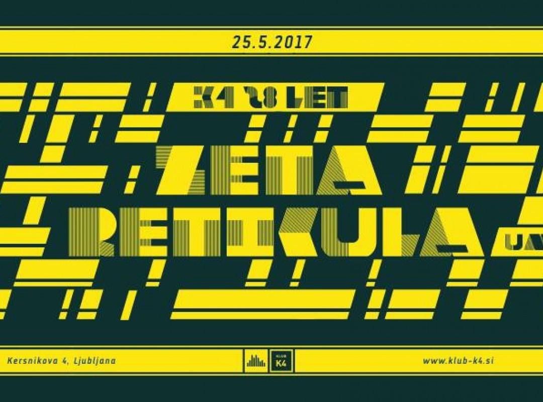 Klub K4 28LET x Zeta Reticula (Umek)