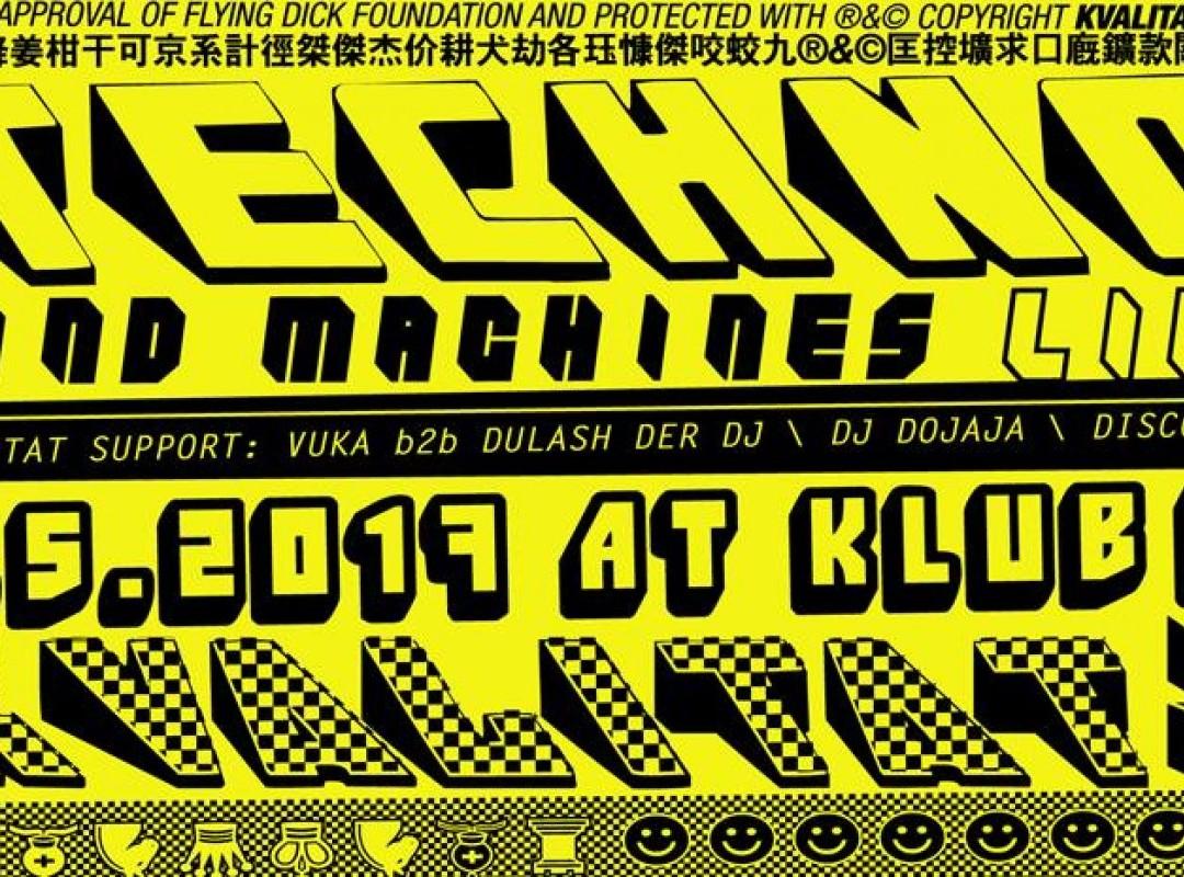 K4x4: Kvalitat w. Mind Machines Live!