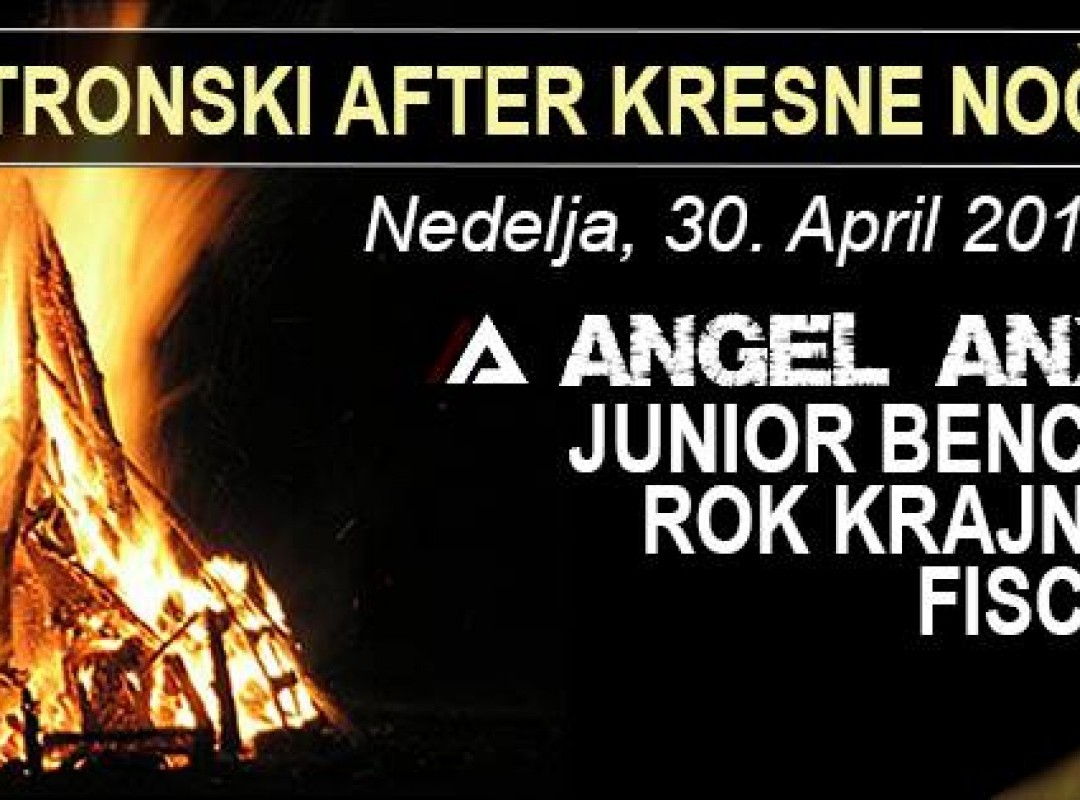 Elektronski after kresne noči: ANGEL ANX