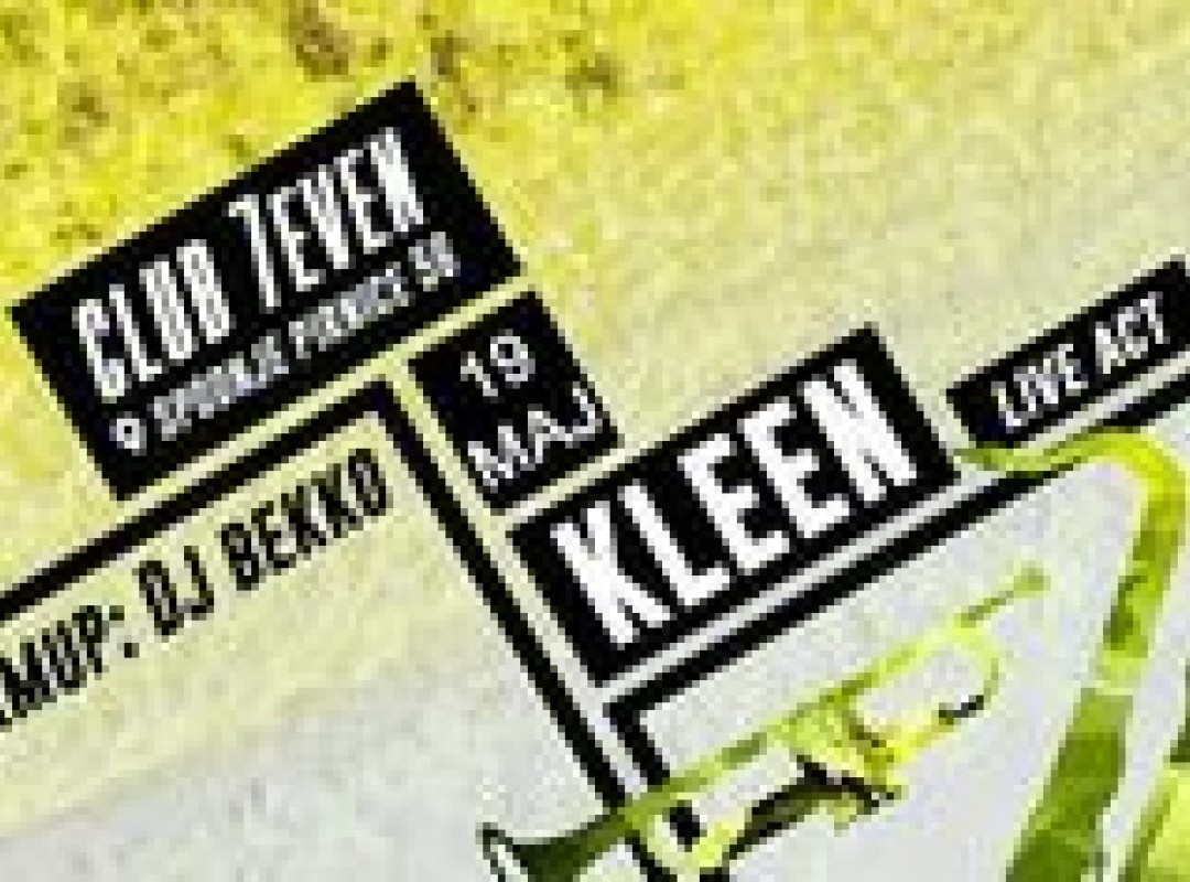 House event KLEEN LIVE ACT