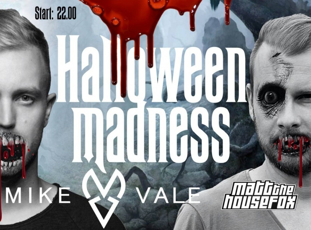 Halloween madness w. Mike Vale & Matt The House Fox