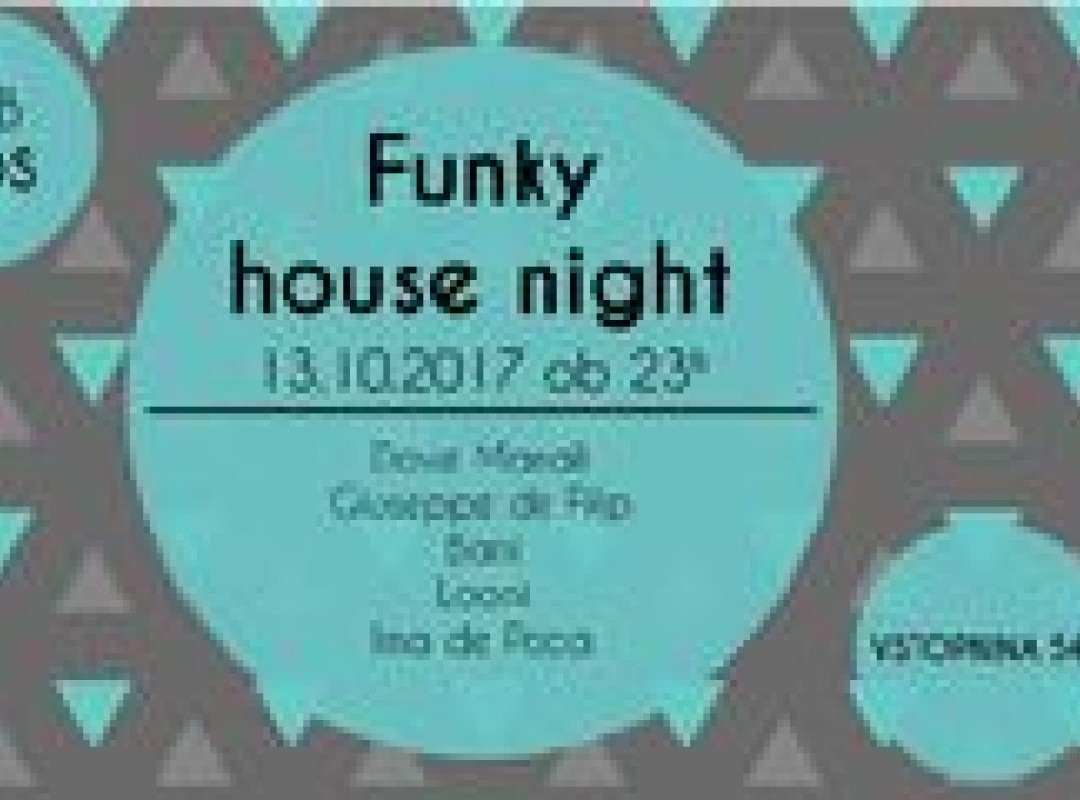 Funky House Night