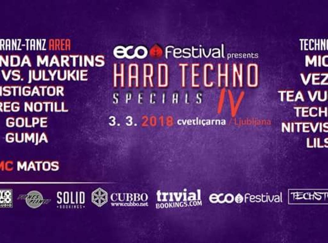 Eco Festival // Hard Techno Special IV