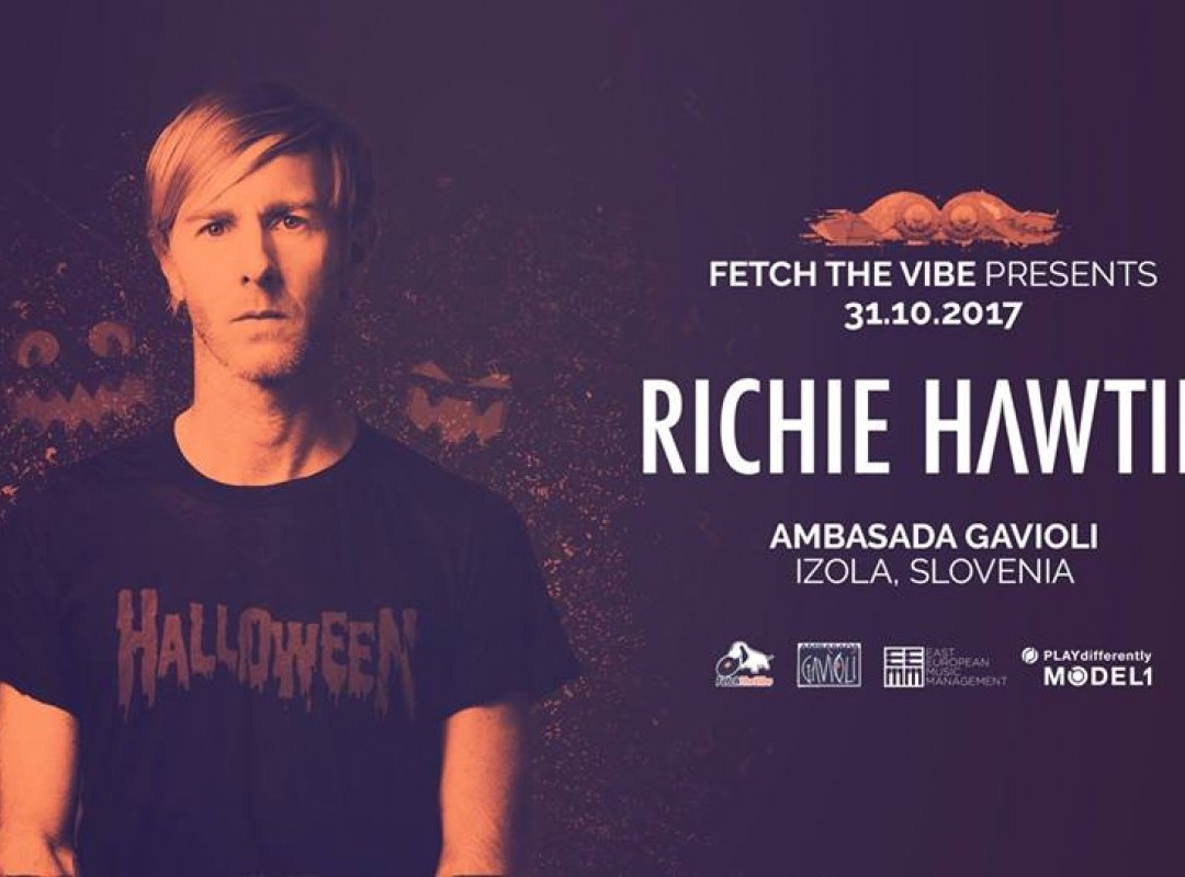 Halloween with Richie Hawtin