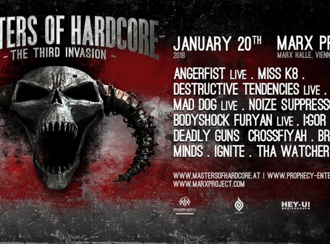 Masters of Hardcore - The Third Invasion