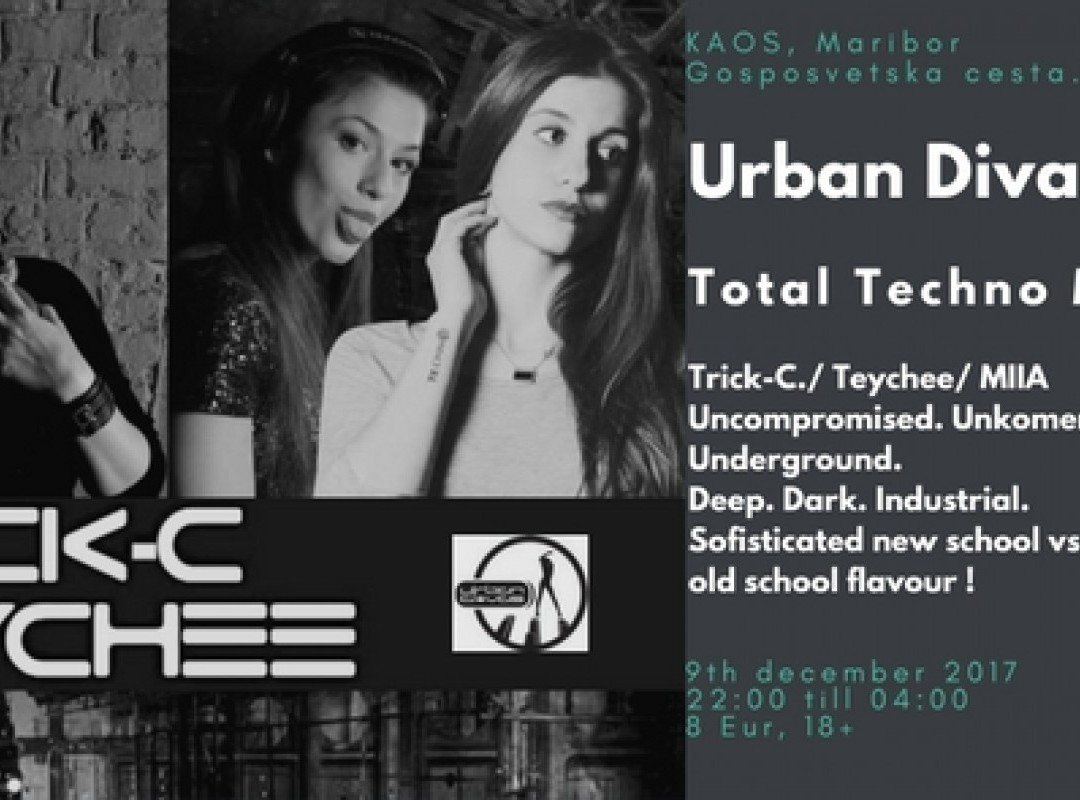 Urban Divas: Total Techno Madness