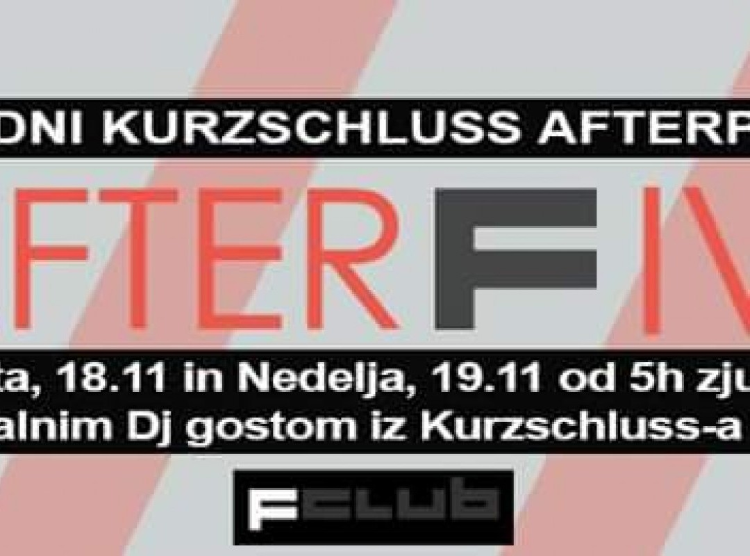 Kurcshluz Afterparty