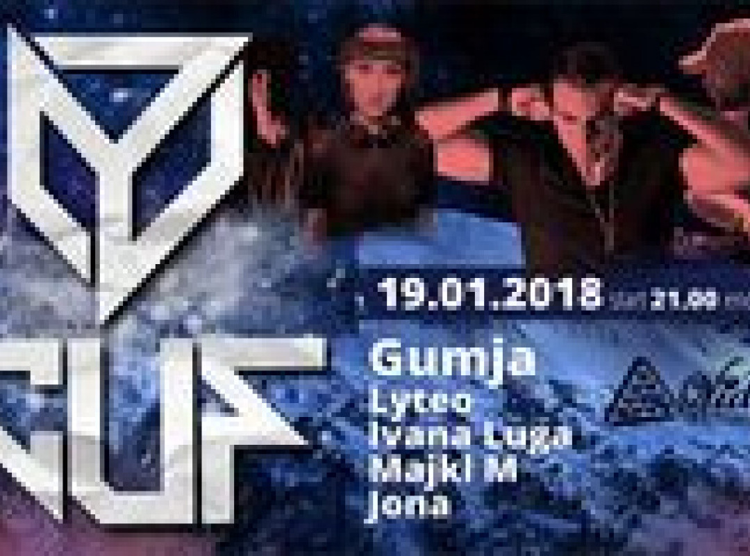CUF The anniversary with DJ GUMJA!!!