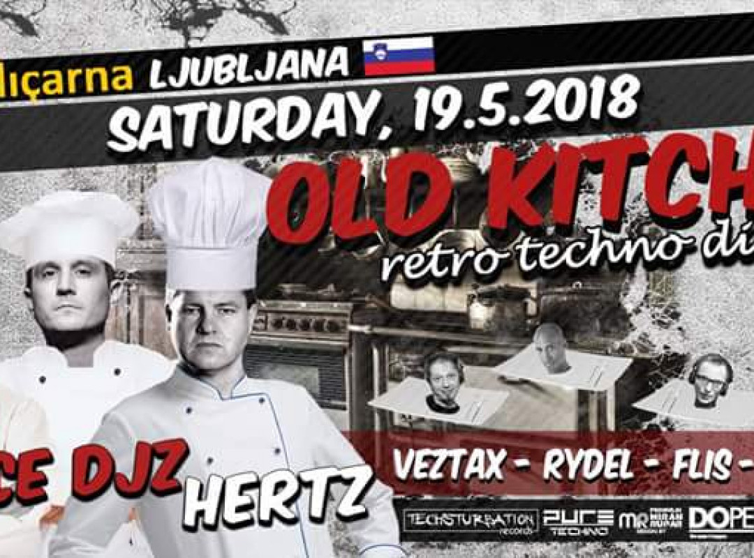 Old Kitchen with Space DJZ