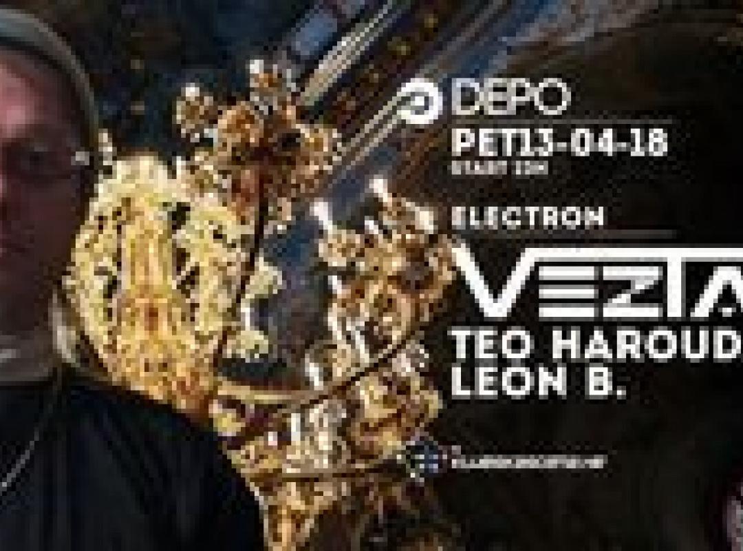 Veztax / Teo Harouda / Leon B. at DEPOklub