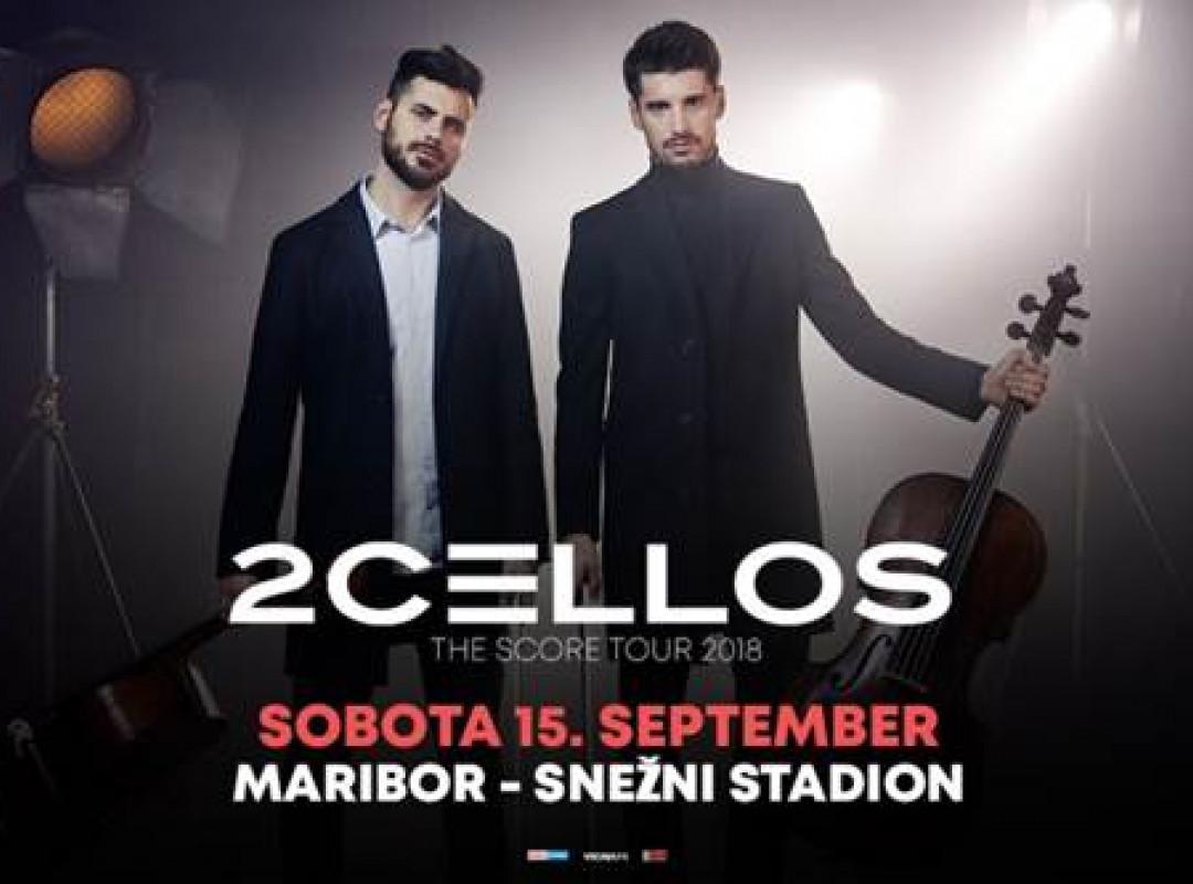 2CELLOS v Mariboru