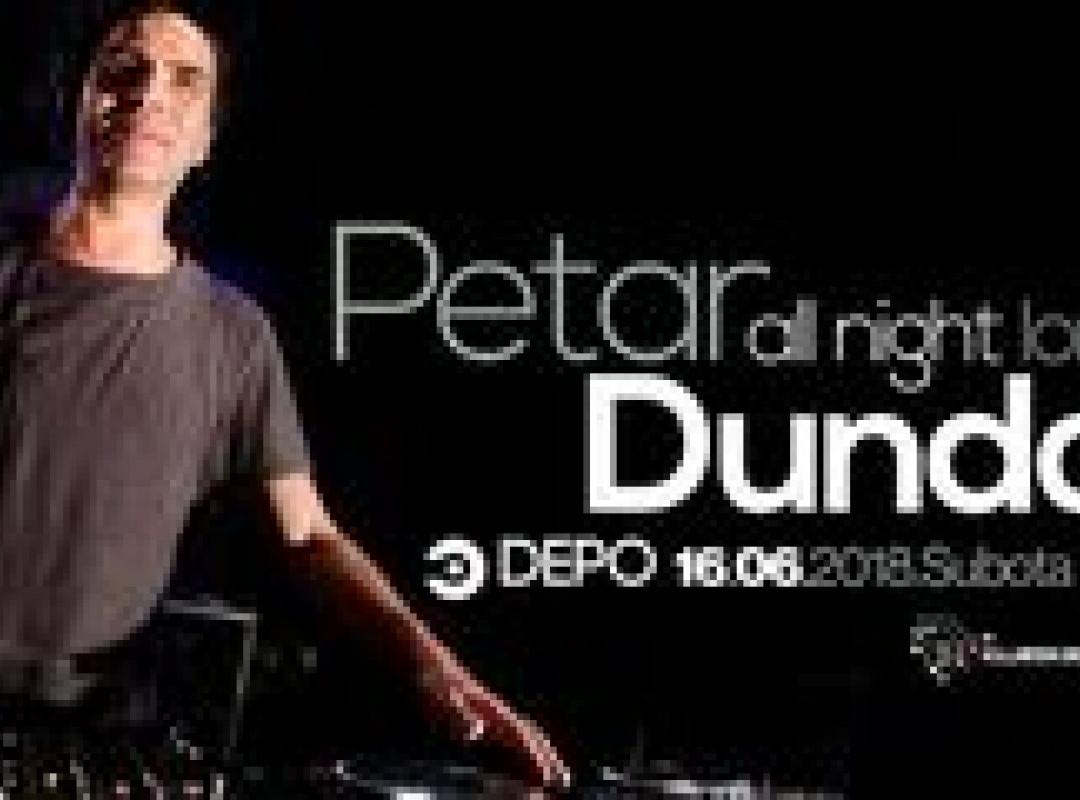 Petar Dundov at DEPOklub