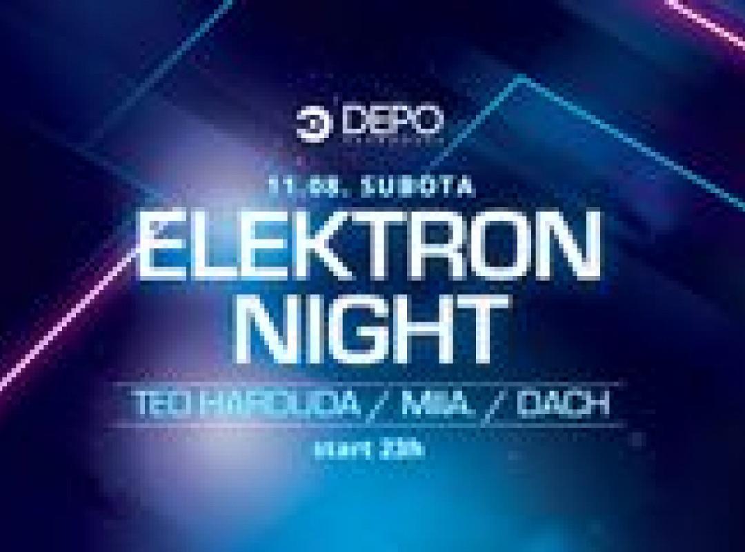 Elektron Night at DEPOklub