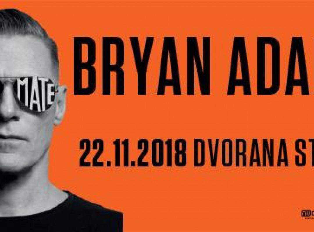 Bryan Adams is back!