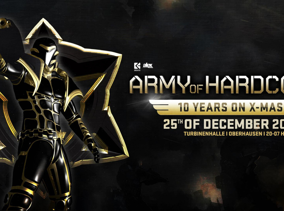 ARMY OF HARDCORE - 10 Years on X-Mas