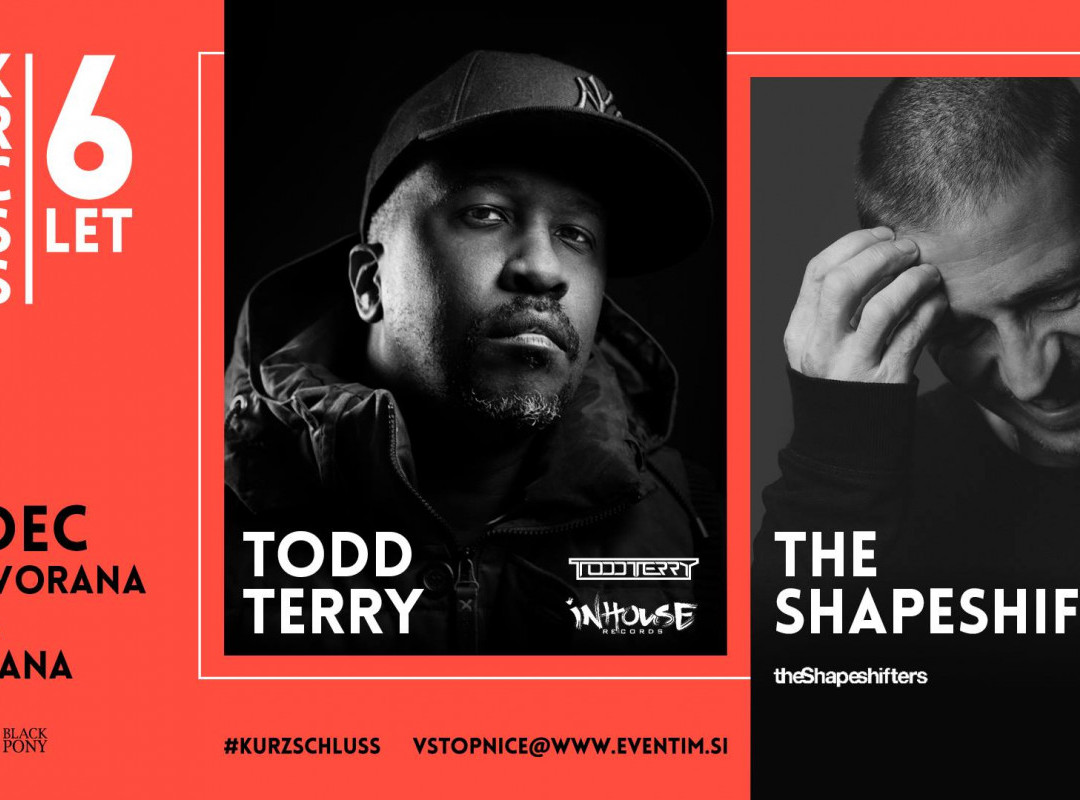 Todd Terry, The Shapeshifters & 6 years of Kurzschluss
