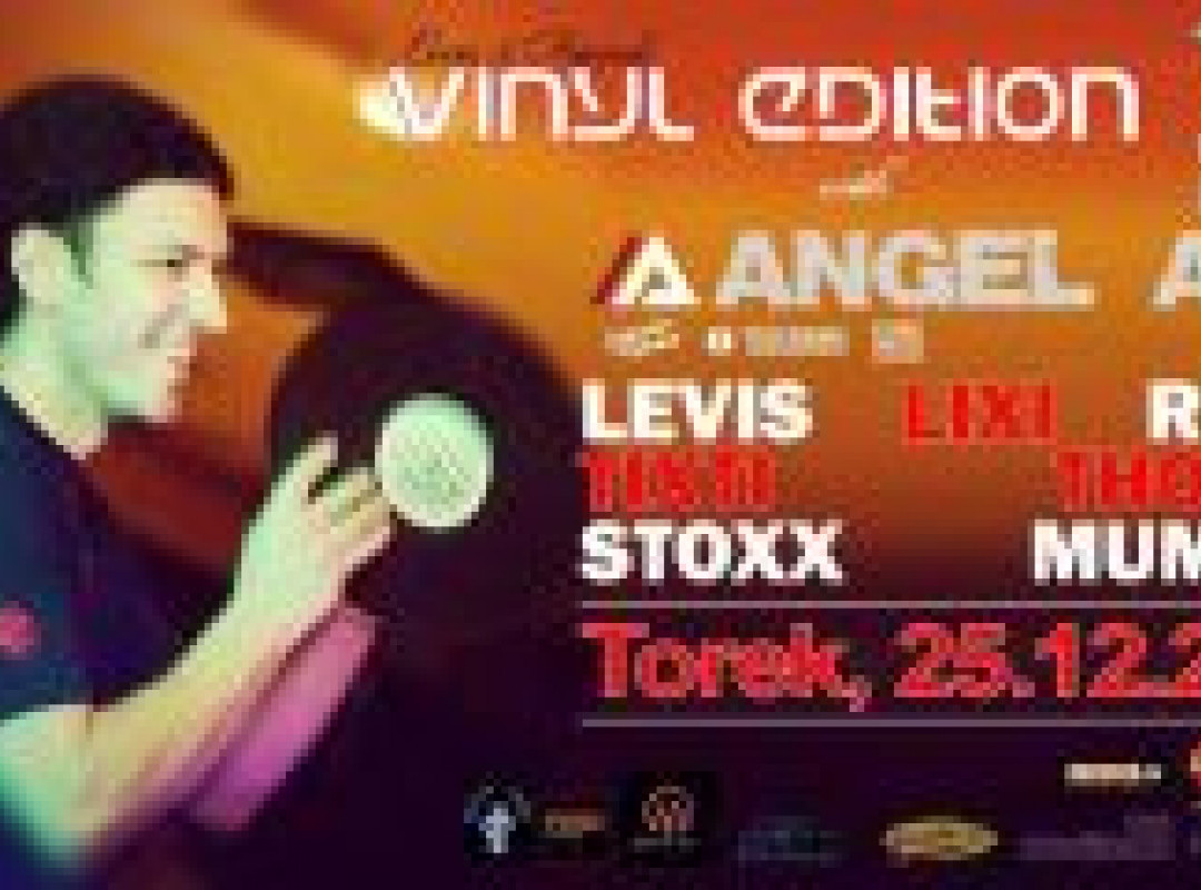Vinyl Edition with Angel Anx