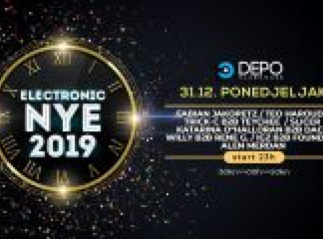NYE 2019 at DEPOklub