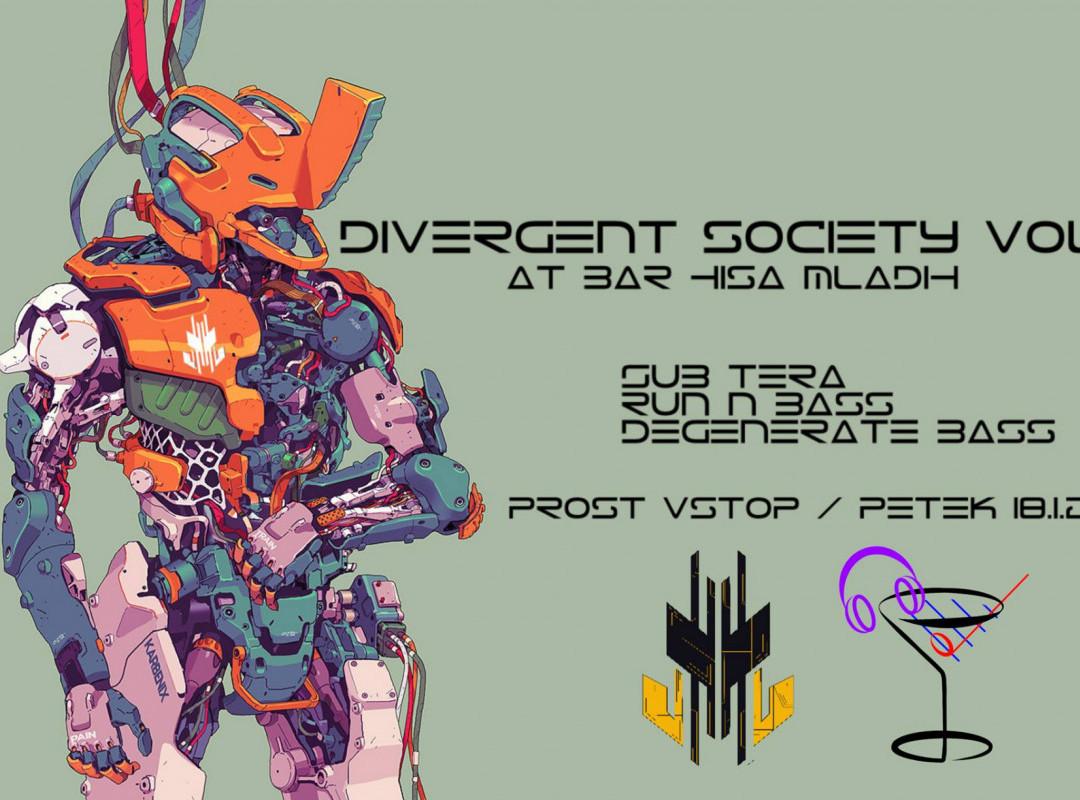 DRUM & BASS - Divergent Society