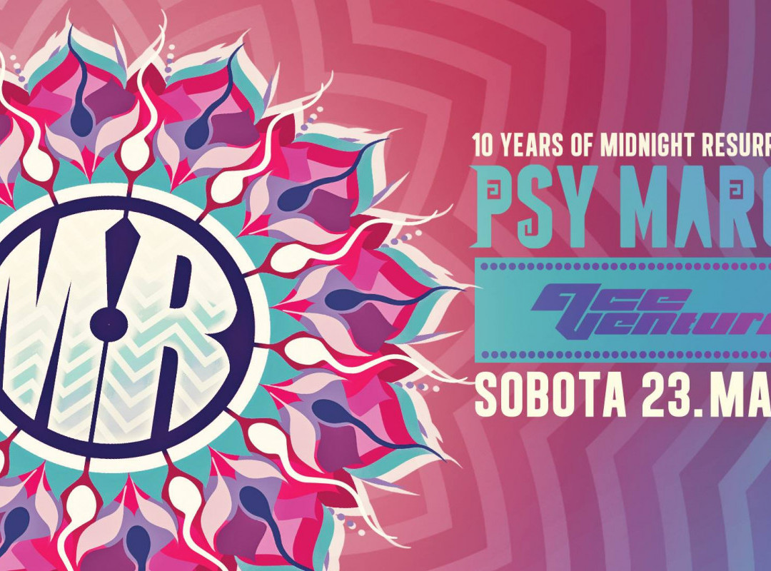 Psy March with Ace Ventura - 10 years of MR