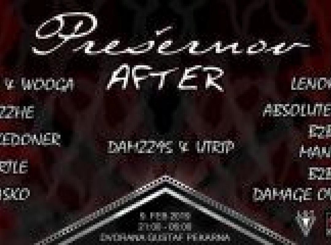 HYPE UP presents: Prešernov After