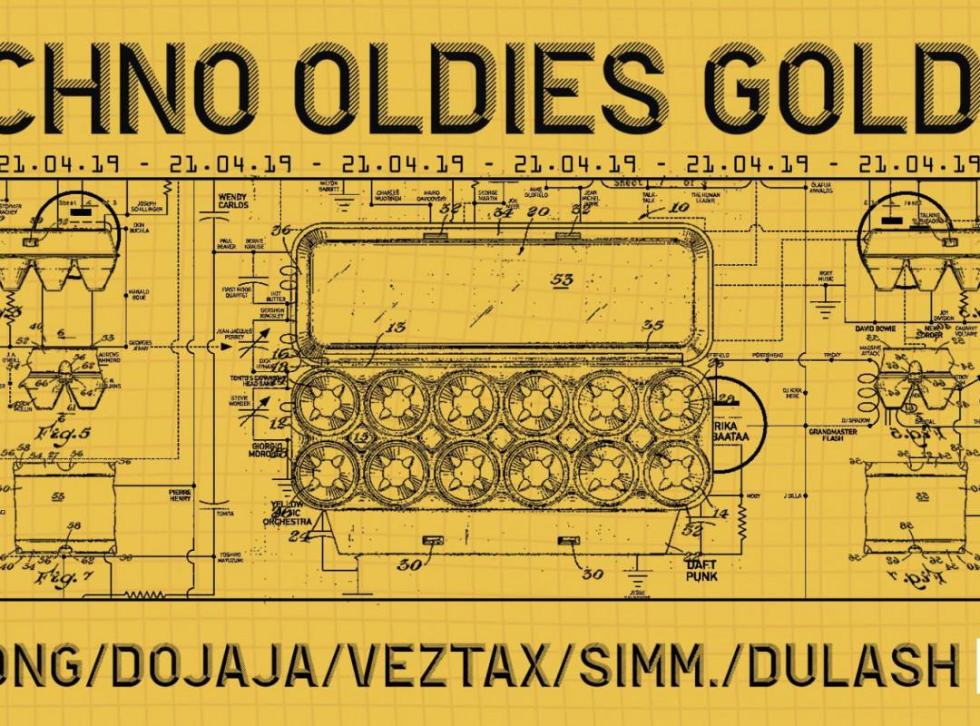 Techno Oldies Goldies w/ Ben Long [Space DJz]
