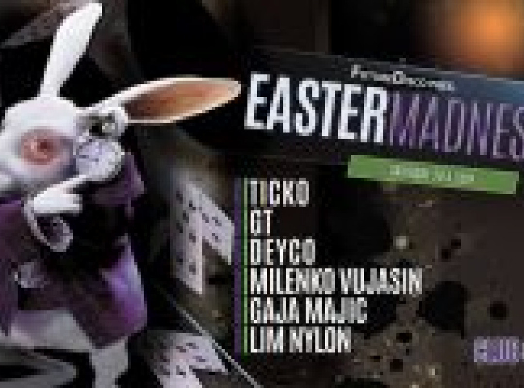 FutureDisco pres. Easter Madness / Club Celeia