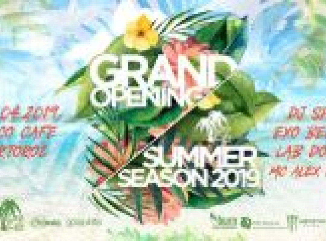 Grand Opening Summer Season 2019 @Coco Cafe