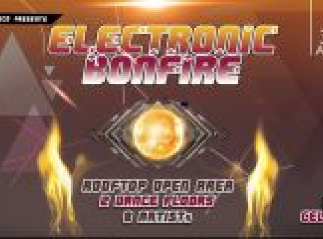 Electronic Bonfire 2019 / 2 dance floors / 8 DJs