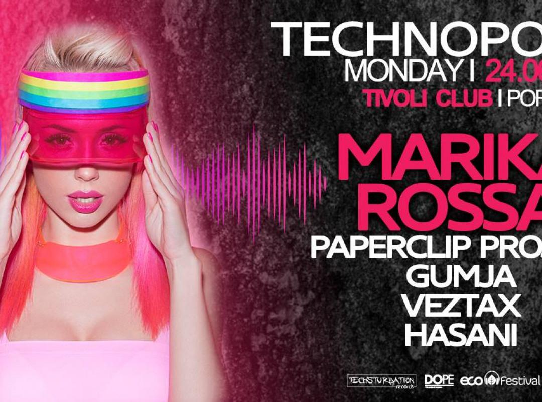 Techsturbation presents Technopolis with Marika Rossa