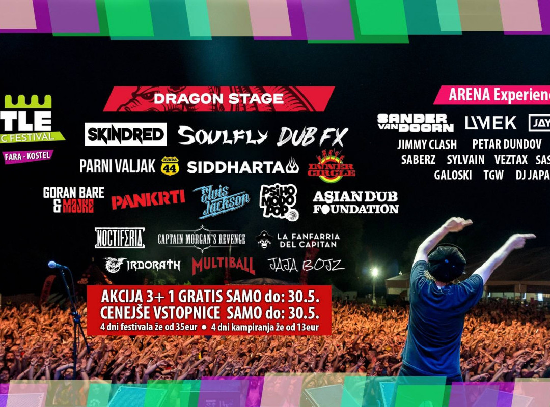 Castle - Kolpa Music Festival 2019