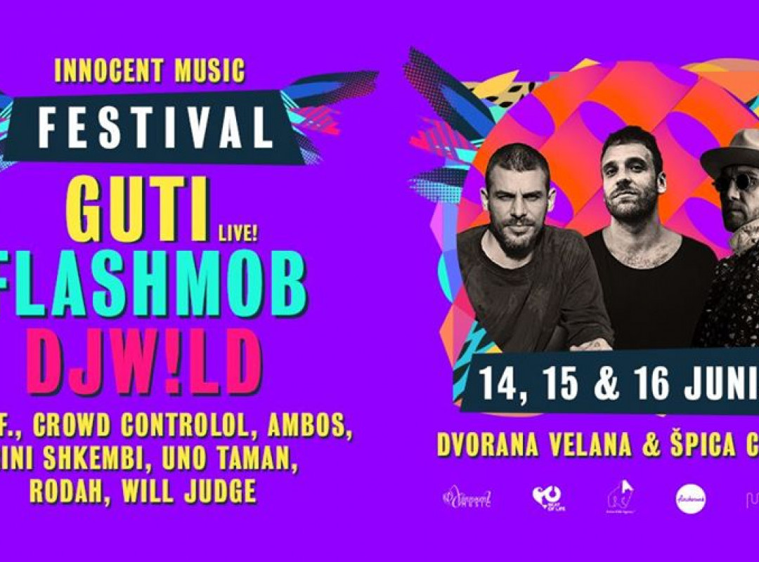 Innocent Music Festival with Guti, Flashmob & Dj W!ld