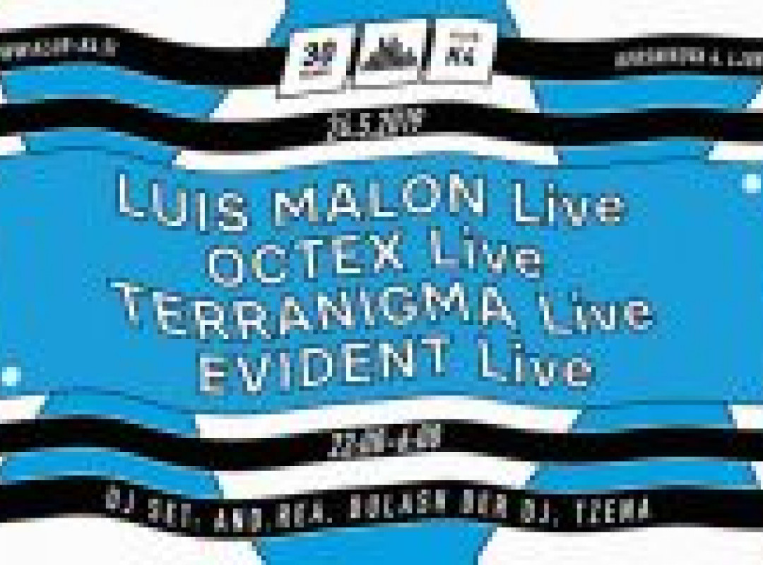 30K4: Live! w/ Luis Malon [UY], And.rea [IT], Octex, Terranigma