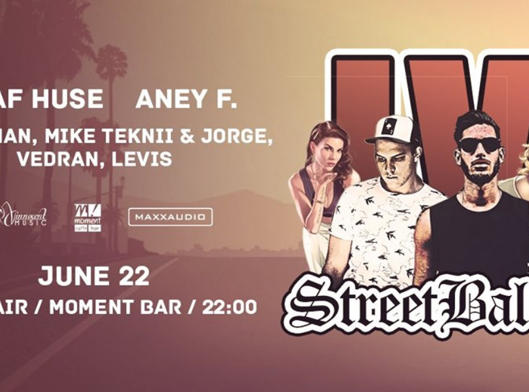 StreetBallin #4 - Open Air - w./ Shaf Huse / Aney F. / & Friends