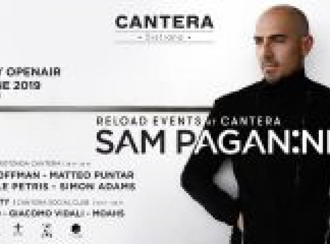 Sam Paganini at Reload Events / Rotonda Cantera