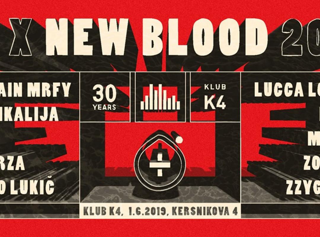 K4 x New Blood 2019