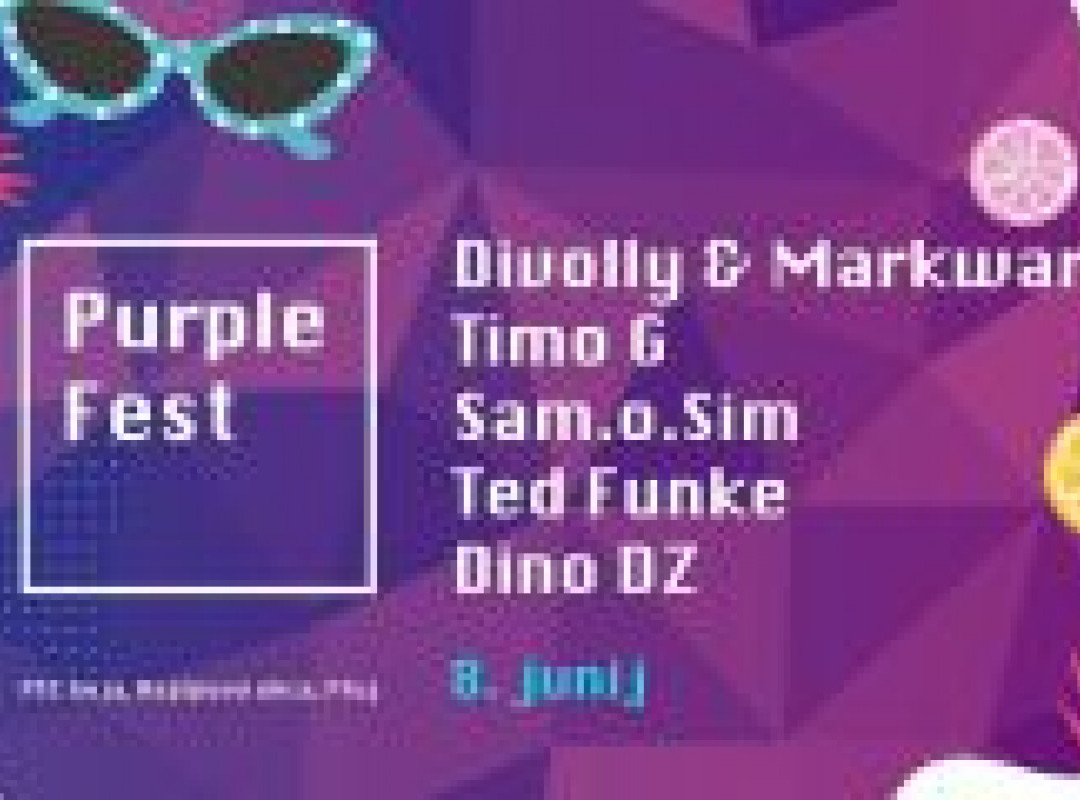 Pozdrav poletju I PurpleFest I OPEN AIR