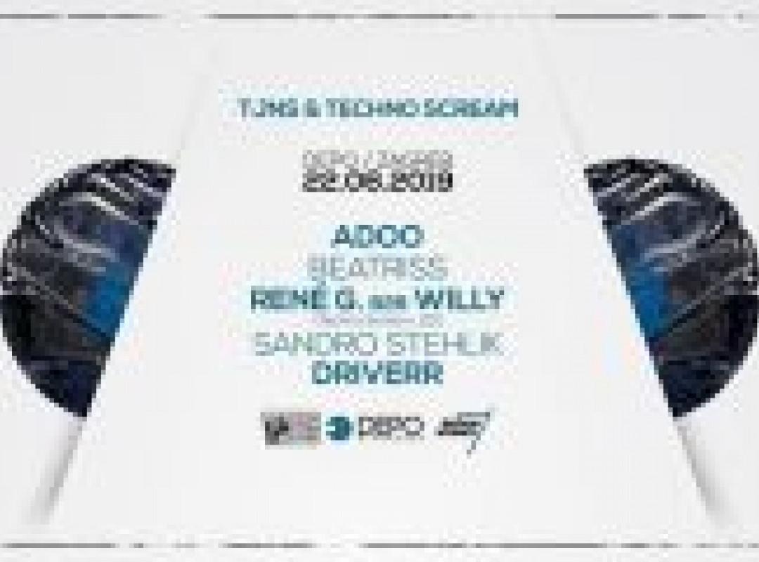 TJNS & Techno Scream at DEPOklub