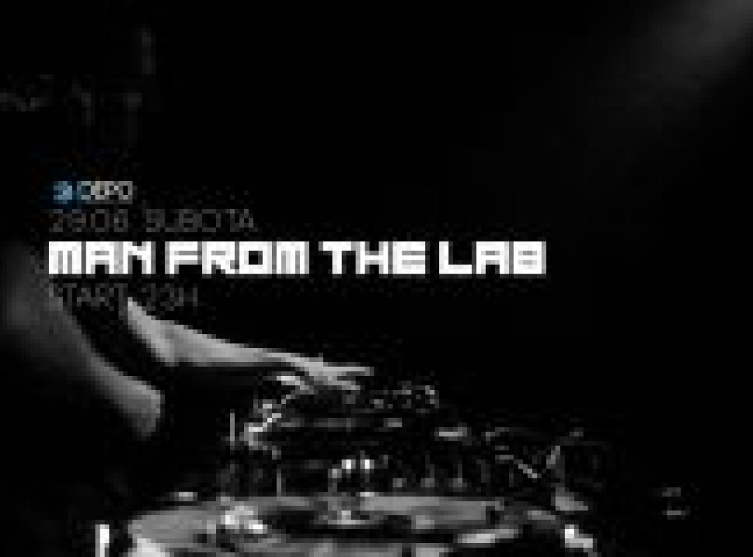 Man From The Lab at DEPOklub