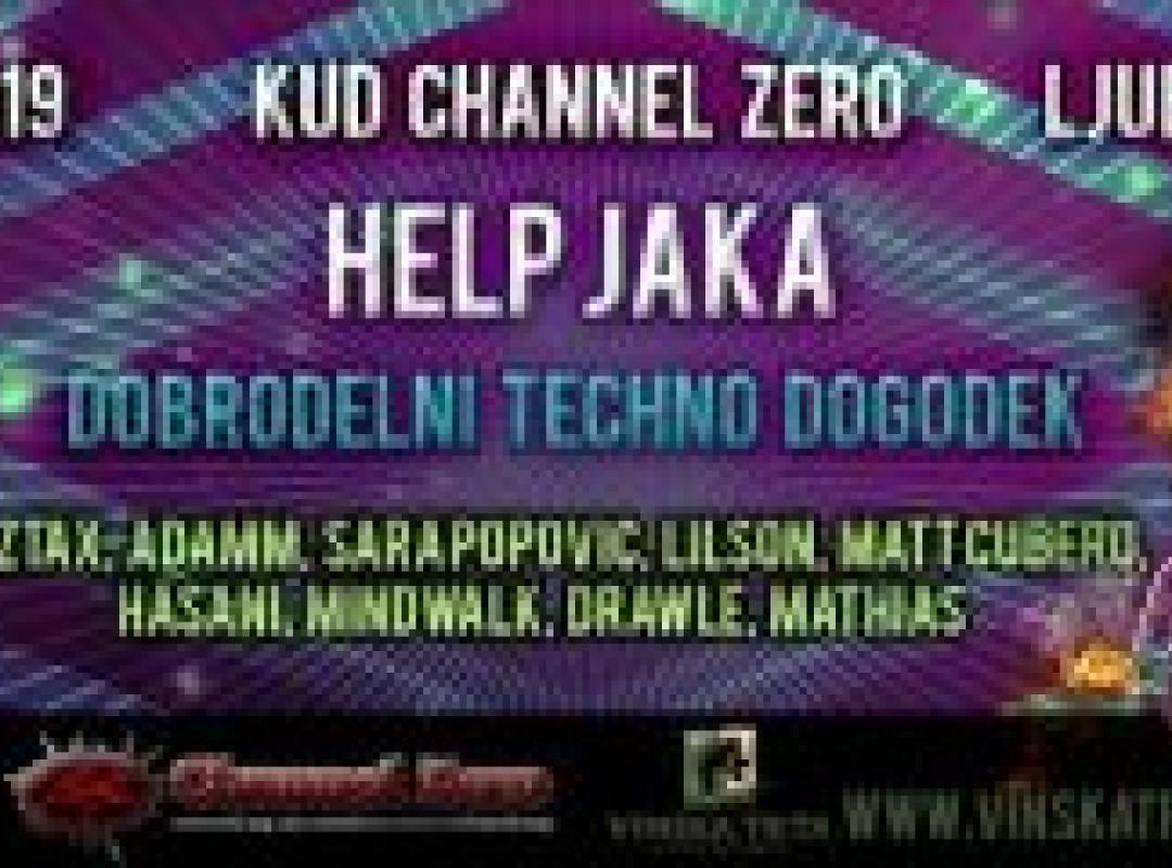 Help JAKA - Dobrodelni Techno Dogodek