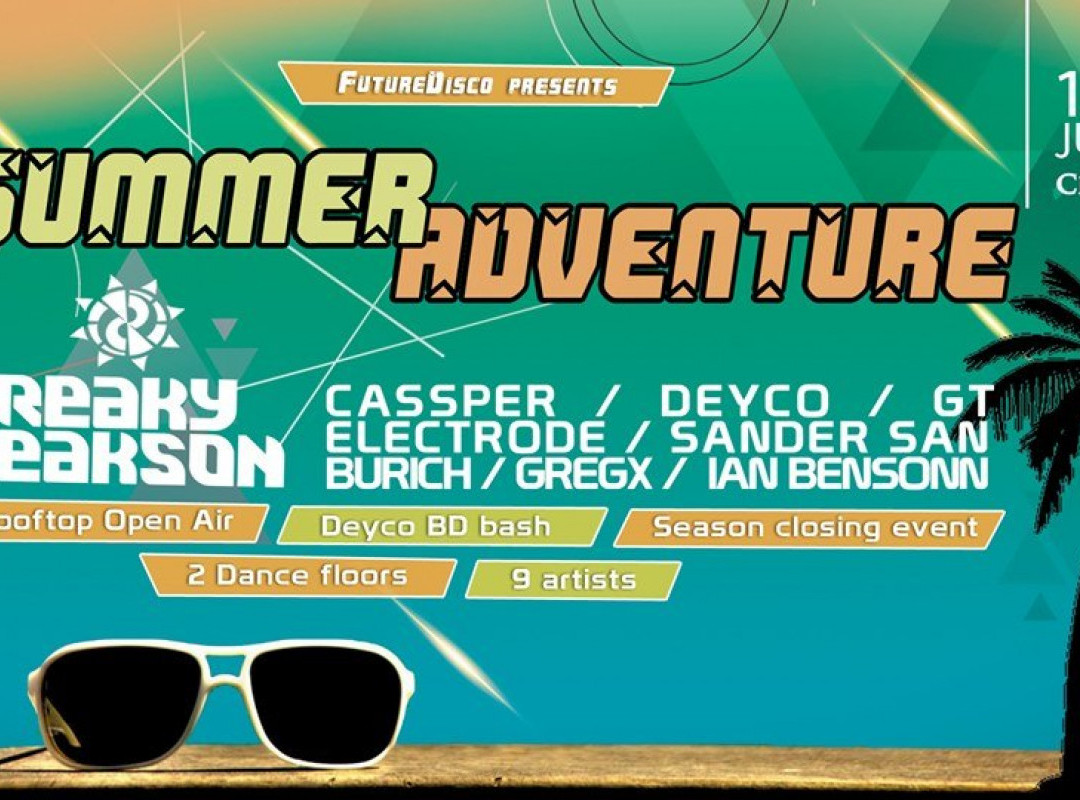 Summer Adventure ● 2 floors & 9 DJs / Rooftop Open Air ●