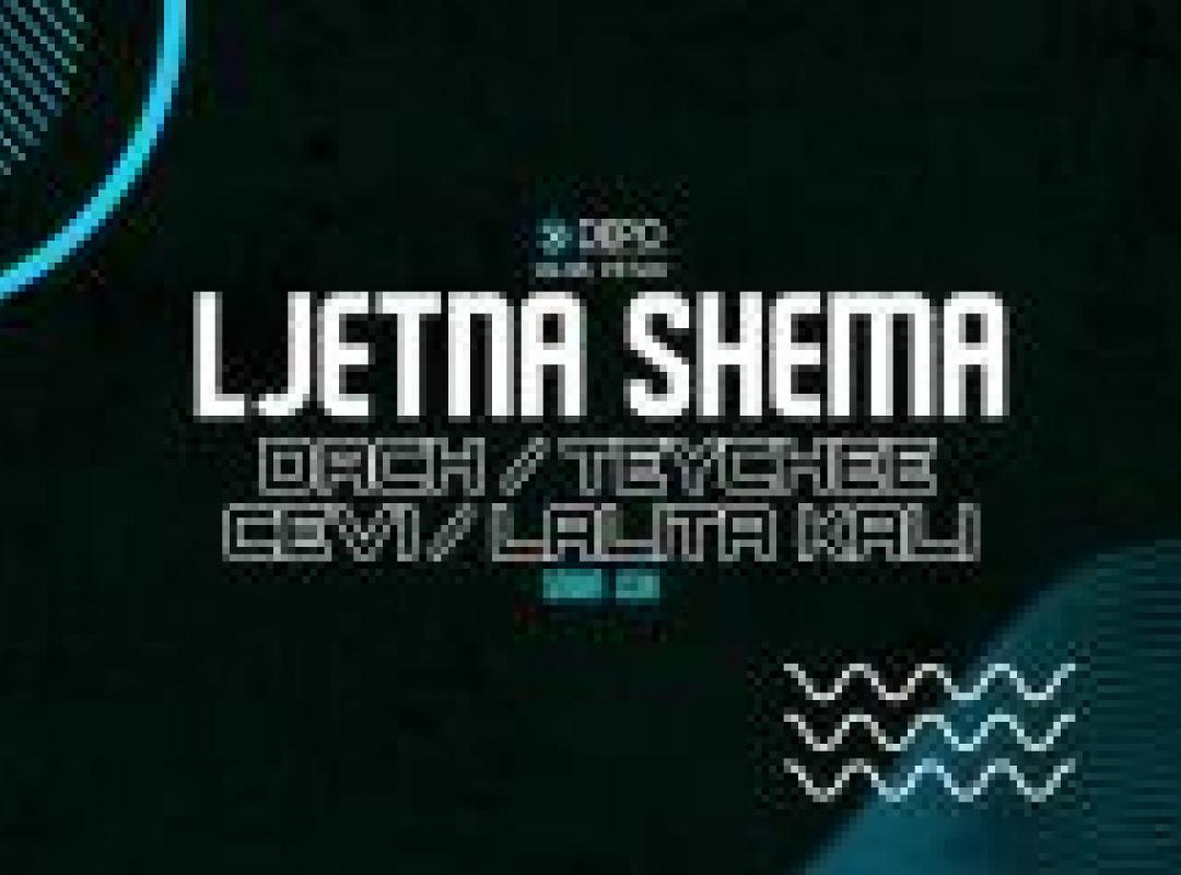 Dach / Teychee / Lalita Kali / Cevi at DEPOklub