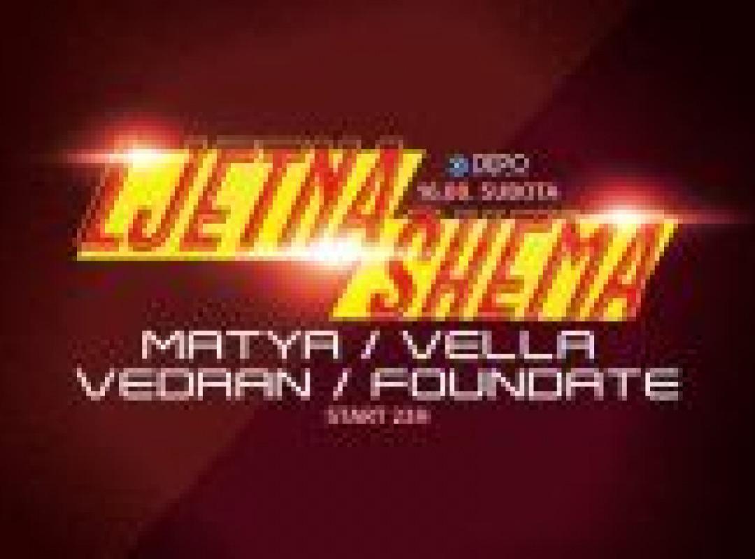 Matya / Vella / Vedran / Foundate at DEPOklub