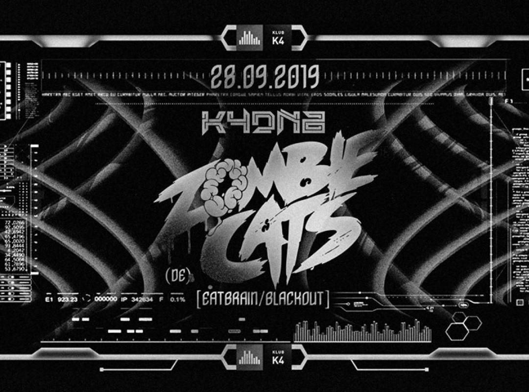 K4DNB : Opening w/ Zombie Cats (DE) [Eatbrain/Blackout]