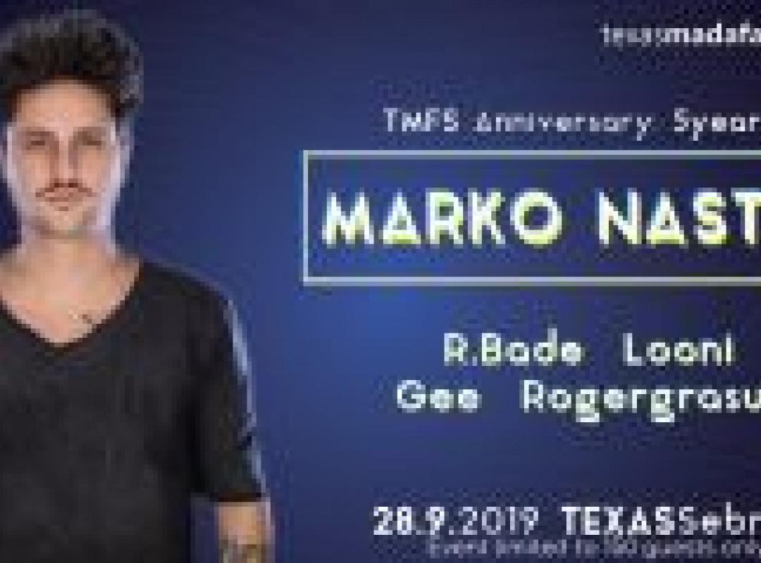 TMFS Anniversary: 5 Years w/ Marko Nastić