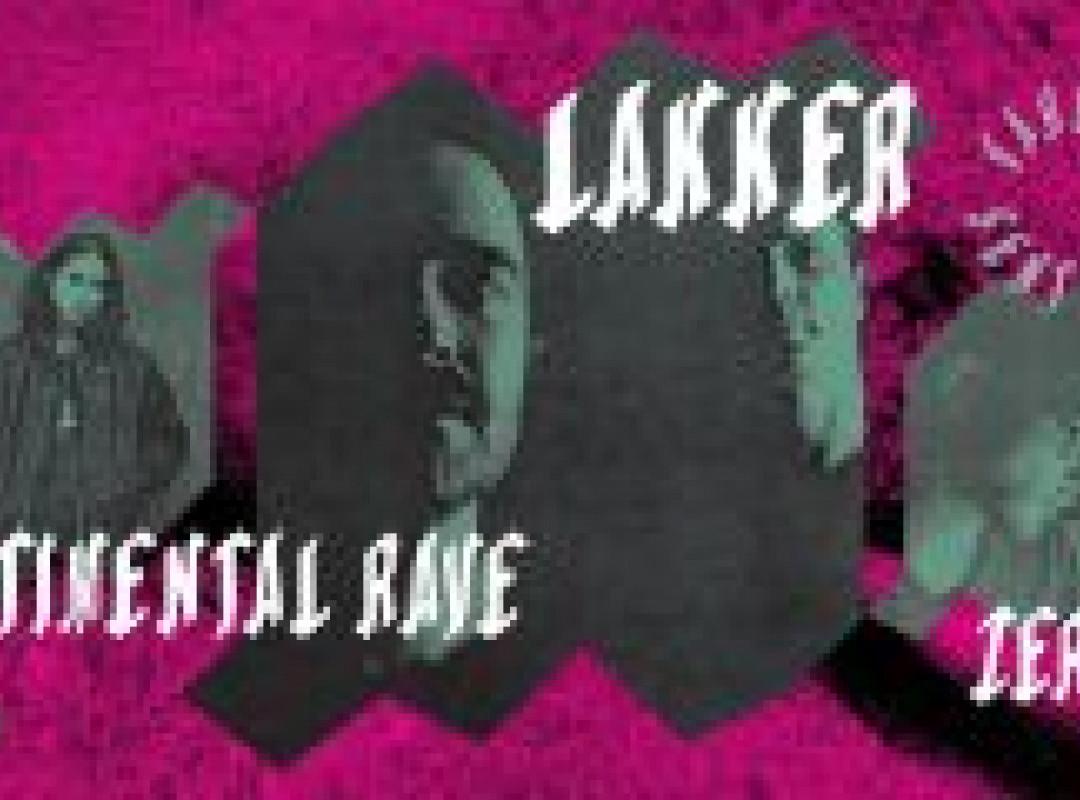 SONICA x K4: Lakker (live AV) x Sentimental Rave x Zergon