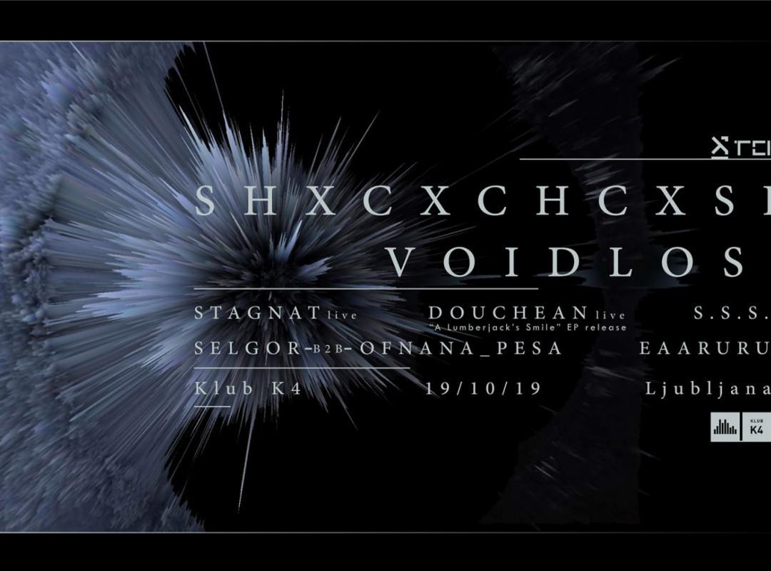 Tektonika w/ SHXCXCHCXSH Live! & Voidloss Live!