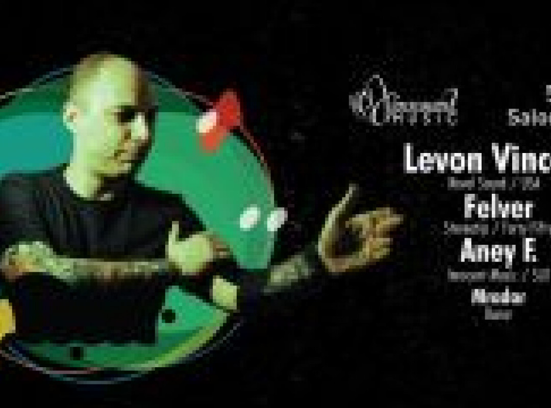 Innocent Music pres. Levon Vincent at Saloon Zagreb