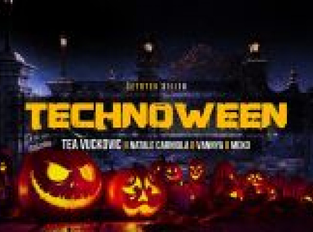 Technoween w. Tea Vuckovic