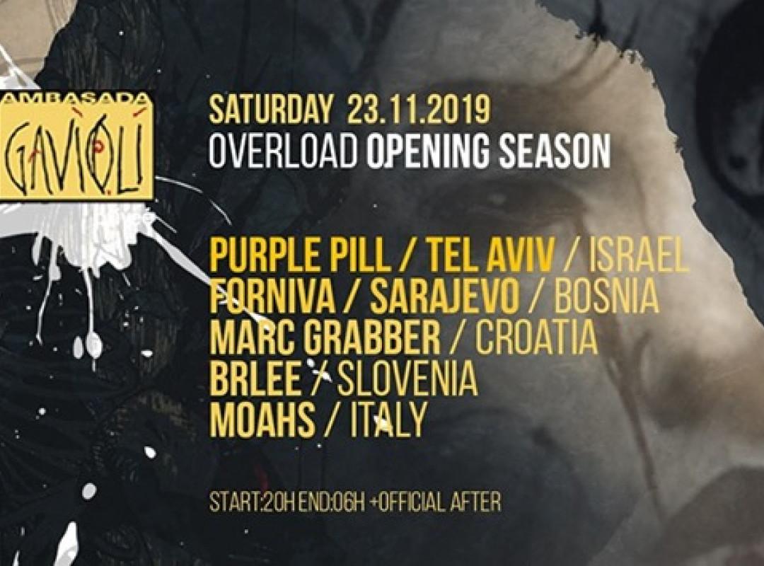 Overload opening season at Ambasada Gavioli